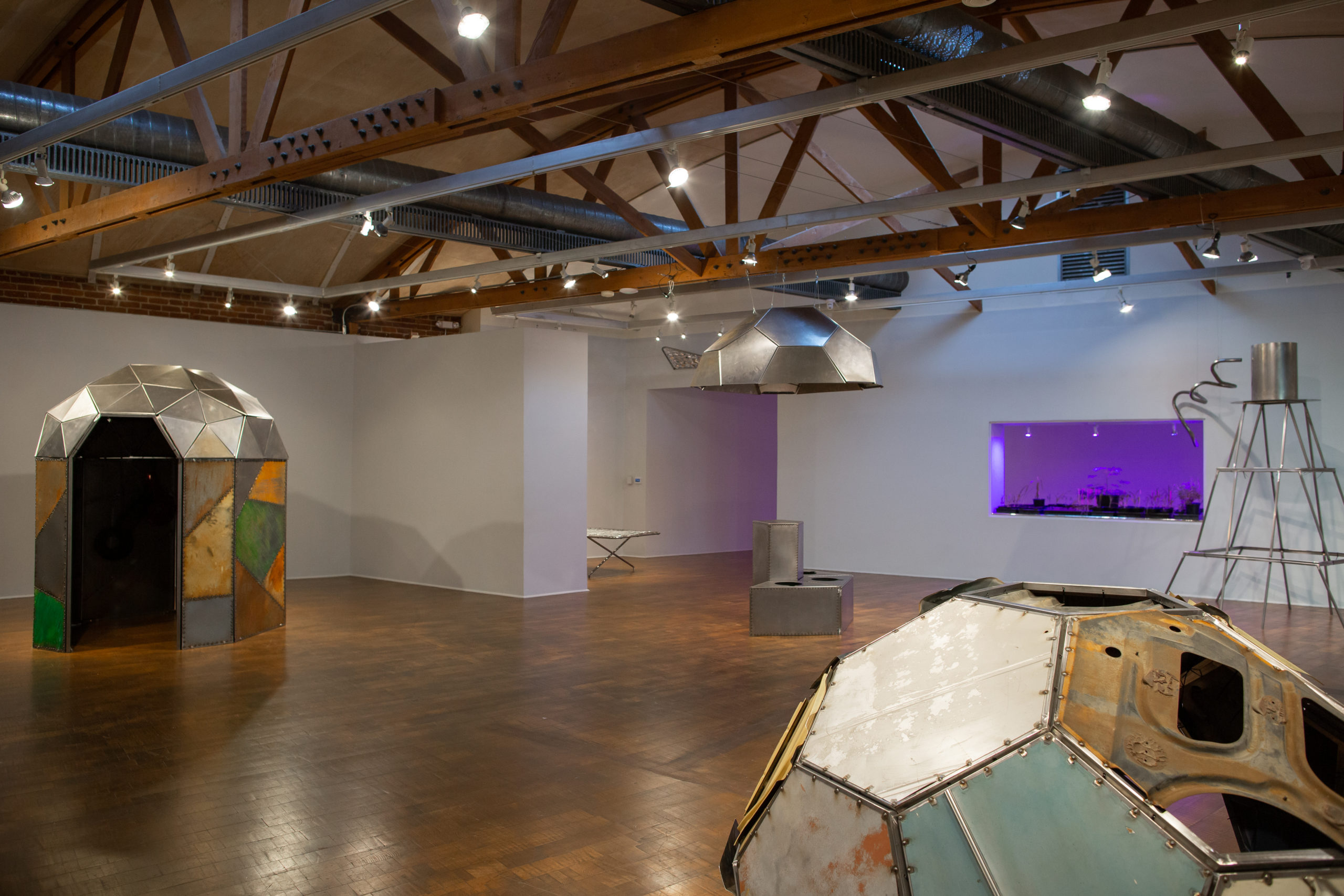 Beatriz Cortez: Trinidad / Joy Station, installation view, 2019.